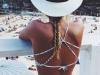 Sombreros verano 2016: blanco