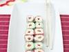 Sushi de gominolas: Bien presentado