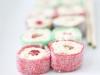 Sushi de gominolas: Rollitos