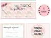 Tarjetas para el Día de la Madre: Vales