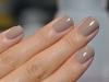 Uñas de novia: beige
