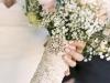 Uñas de novia: claras