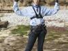VII Edición del Land Rover Discovery Challenge segunda jornada: Bimba Bosé rapel
