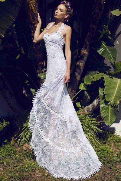 Imagenes de vestidos de novia ibicencos