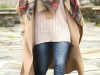 Abrigos oversize: look beige