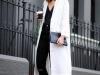 Abrigos oversize: look black & white