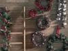 Adornos de Navidad: El Corte Inglés coronas y guirnaldas