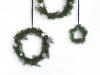 Adornos de Navidad: Maisons Du Monde coronas de estrellas