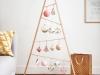 Adornos de Navidad Maisons Du Monde 2017: Collection Blush árbol