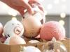 Adornos de Navidad Maisons Du Monde 2017: Collection Blush bolas