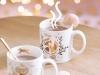 Adornos de Navidad Maisons Du Monde 2017: Collection Blush tazas