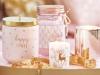 Adornos de Navidad Maisons Du Monde 2017: Collection Blush velas