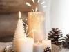 Adornos de Navidad Maisons Du Monde 2017: Collection Chalet velas para centro de mesa