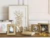 Adornos de Navidad Maisons Du Monde 2017: Collection Gold marco de fotos