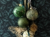 Adornos de Navidad Maisons Du Monde 2017: Collection Green bolas