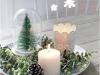 Adornos de Navidad Maisons Du Monde 2017: Collection White velas centro de mesa