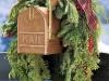 Adornos de Navidad vintage: buzón