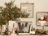 Adornos de Navidad vintage: mesa