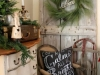 Adornos de Navidad vintage: rincón