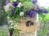 Adornos florales para bodas: cajas