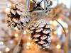 Adornos Navidad Piñas: adorno para el árbol