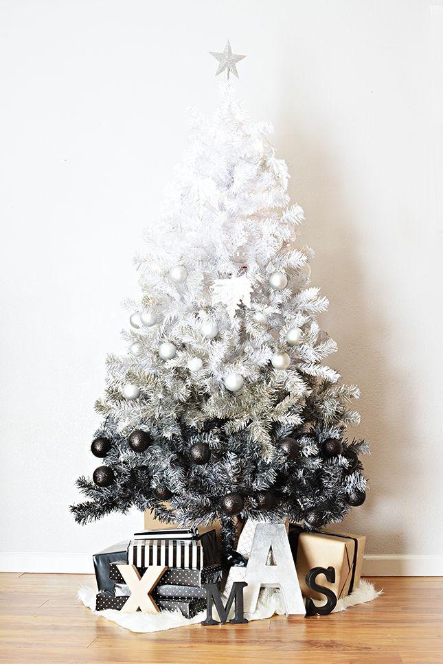 rbol de navidad blanco adornos blancos
