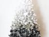 Árbol de Navidad blanco: adornos blancos