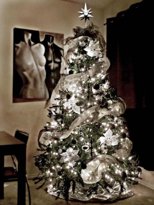 rbol de navidad ideas originales blanco y negro rbol de navidad ideas originales blanco y negro