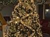 Árbol de Navidad ideas originales: dorado con luces