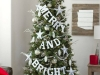 Árbol de Navidad ideas originales: letras