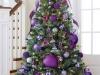 Árbol de Navidad ideas originales: morado