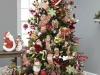 Árbol de Navidad ideas originales: muñecos Papá Noel
