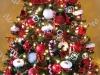 Árbol de Navidad ideas originales: Papá Noel