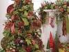 Árbol de Navidad ideas originales: verde y rojo