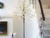 Árbol de Navidad led: almendro blanco