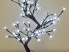 Árbol de Navidad led: flores