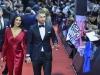 Balón de Oro 2016: alfombra roja Sergio Ramos y Pilar Rubio caminando