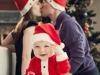Bebés en Navidad: con los papás