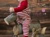 Bebés en Navidad: Foto de estudio