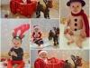 Bebés en Navidad: Diferentes disfraces