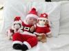 Bebés en Navidad: entre peluches