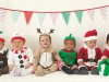Bebés en Navidad: disfraces