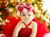 Bebés en Navidad: Niña con tutú