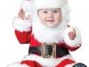 Bebés en Navidad: Disfraz de Papá Noel