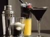 Bebidas para Halloween: Cóctel negro y naranja