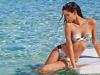 Bikinis Calzedonia 2015: bikini bandeau estampado