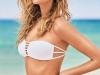 Bikinis Calzedonia 2017 catálogo: modelo bandeau blanco