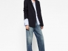 Americanas azules looks: Zara look con jeans