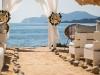 Boda Ibicenca en la playa: altar