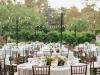 Bodas al aire libre: decoración de mesas con luces